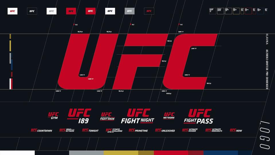 ufc, logo, design, branding